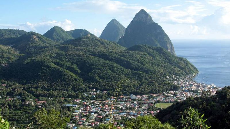 Die Pitons (Felsformation), St. Lucia