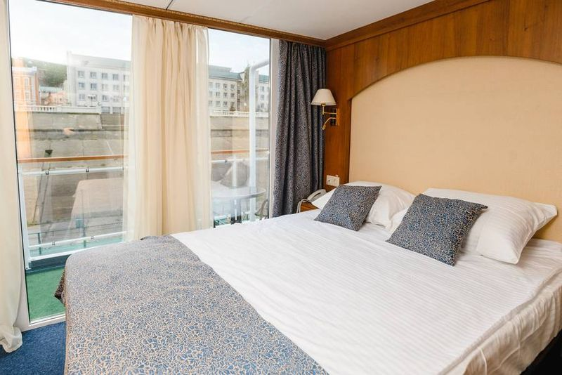 2-Bett Superieur Plus Panoramadeck, Privatbalkon