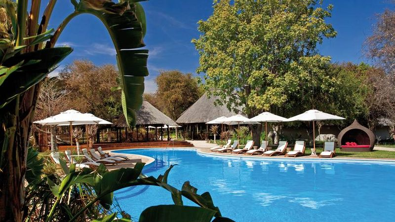 Lodge im Etosha-Nationalpark
