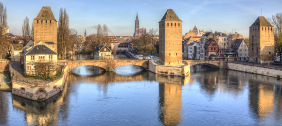 Ponts Couverts, Strasbourg