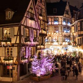 Weihnachtsmarkt, Colmar