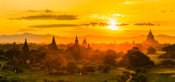 Tempel und Pagoden, Bagan