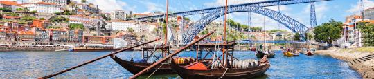 Traditionelle Portwein-Boote, Porto
