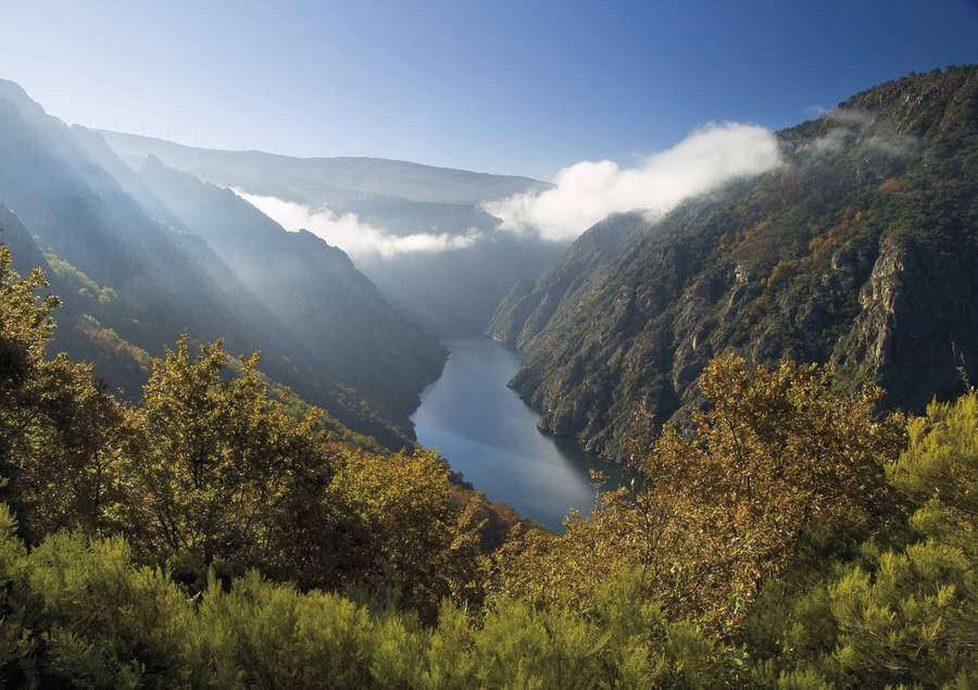 Sil Canyon bei Ourense
