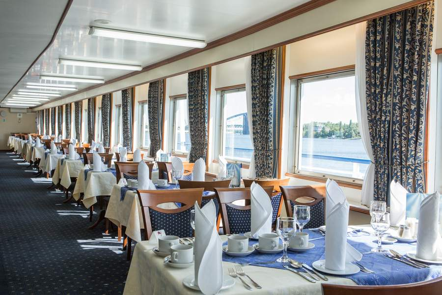 MS Dnieper Princess - Restaurant Kiew